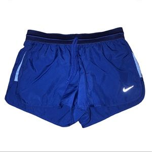Nike Dry Fit Blue Athletic Shorts